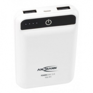 Ansmann Powerbank 10.8 Mini White - 10000 mAh